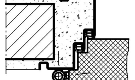 1x Konsolenset Profil 38//40 560mm mit Dämmpuffer verzinkt