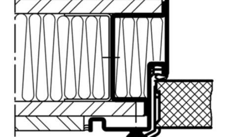 Türzarge detail dwg  Domoferm: Detail